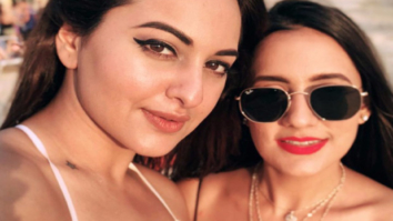 Check out Sonakshi Sinha plays volleyball with friends during her vacation in Singapore