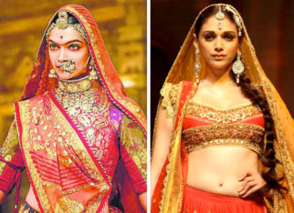 Deepika Padukone shares this special moment from Padmavati wrap-up and so does Aditi Rao Hydari