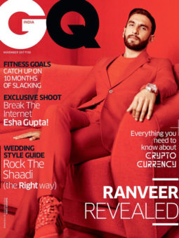 Ranveer Singh On The Cover Of GQ Magazine