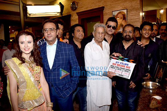 Gulshan Grover gives themahurat shot for Indo-Polish film 'Nie Means Nie'