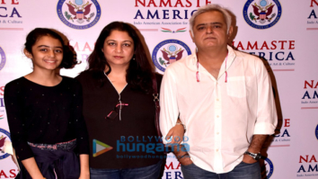Hansal Mehta and family snapped attending the Namaste America jazz concert