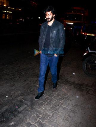 Harshvardhan Kapoor spotted at Estella, Juhu