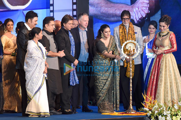 K3G Reunion Amitabh Bachchan, Shah spotted at Kolkata International Film Festival 2017