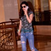 Kriti Sanon snapped at a hotel