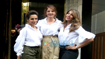 Malaika Arora, Sussanne Khan and Bipasha Basu snapped at a shoot