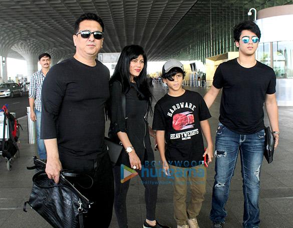 Sajid Nadiadwala, Shriya Sharan snapped at the airport | Parties & Events