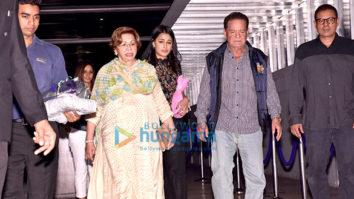 Salim Khan, Sohail Khan, and the entire family snapped at Hakkasan in Bandra
