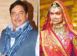 Shatrughan Sinha expresses surprise over silence of major superstars on Padmavati controversy