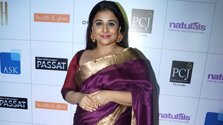 Vidya Balan's Heart Winning Answer When A Journalist Asked A Question Related To Losing Weight