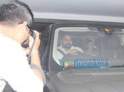 Alia Bhatt spotted at Karan Johar's house (3)