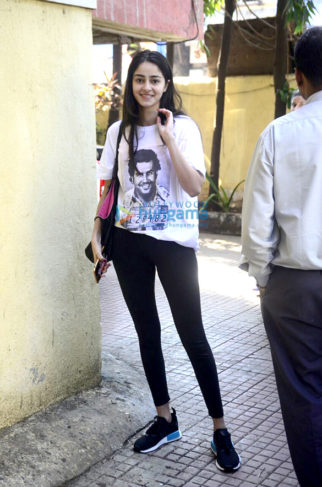 Ananya Panday and Diana Penty spotted in Khar