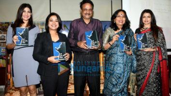 Bhagyashree, Aahana Kumra, Abha Singh and Faye Dsouza at 'Stree Dasha Aur Disha' book launch