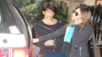 Bipasha Basu and Karan Singh Grover snapped in Khar