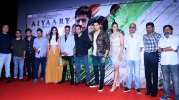Celebs grace the trailer launch of 'Aiyaary'