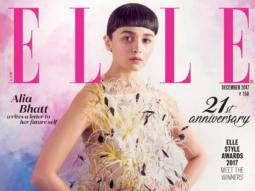 Alia Bhatt On The Cover Of Elle Magazine