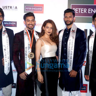 Kangana Ranaut and Manish Malhotra grace the Mr. India grand finale