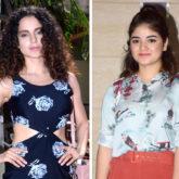 Kangana Ranaut supports Zaira Wasim after the teenager receives backlash over molestation case
