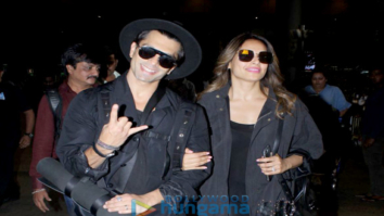 Karan Singh Grover, Bipasha Basu and Taapsee Pannu snapped at the airport