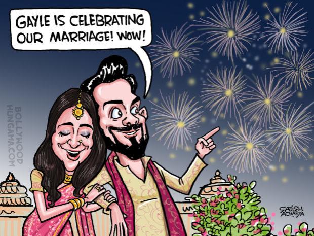 Look who is celebrating Virat-Anushka marriage!