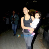 Mira Rajput snapped with baby Misha Kapoor