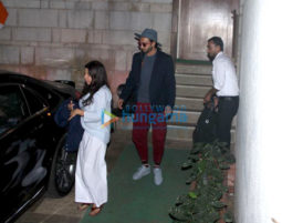 Ranveer Singh and Zoya Akhtar snapped post Gully Boy rehearsals