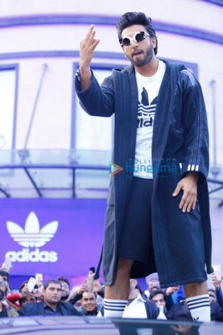 Ranveer Singh inaugurates new store and new sneaker of Adidas in Delhi