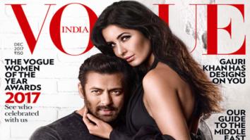 Tiger Zinda Hai pair Salman Khan and Katrina Kaif gets cozy on the Vogue cover!