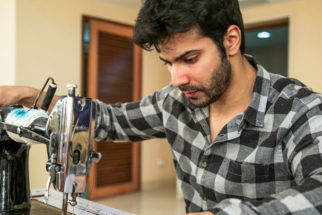 Varun Dhawan Is Practicing On A Sewing Machine As He Prepares For His Role In Sui Dhaaga