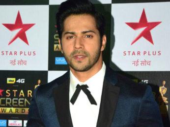 Varun Dhawan at the Red Carpet of Star Screen Awards 2017