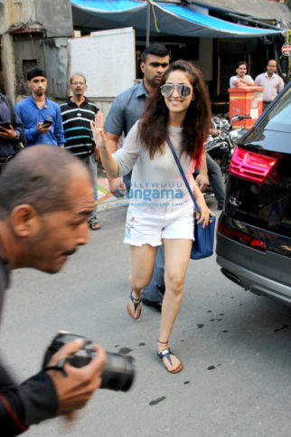 Yami Gautam snapped at a clinic