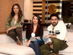Abhishek Bachchan and Aishwarya Rai Bachchan spotted at Gauri Khan's store