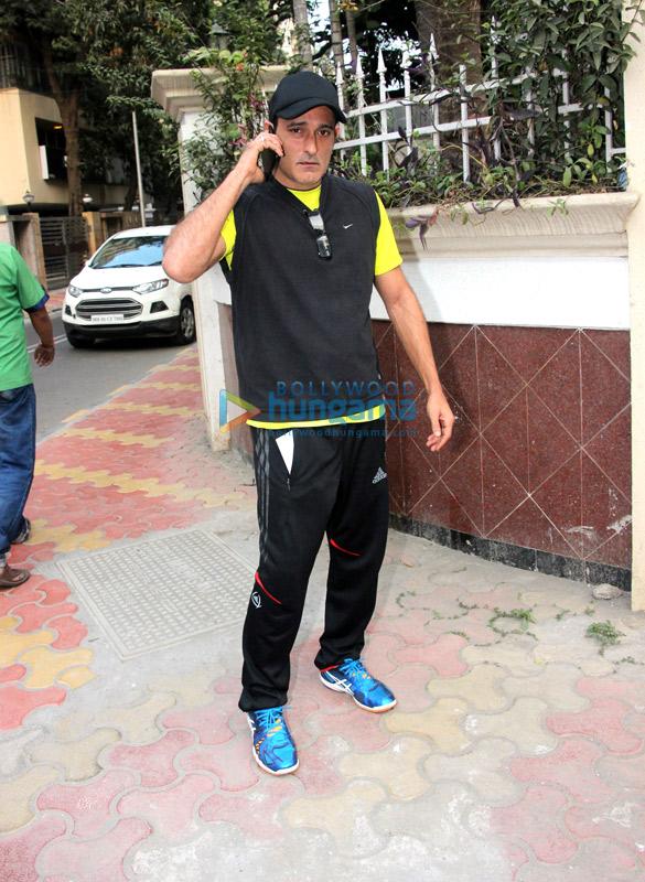 Akshay Khanna spotted in Bandra