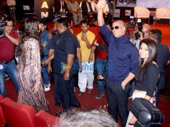 Akshay Kumar and Sonam Kapoor promote Pad Man