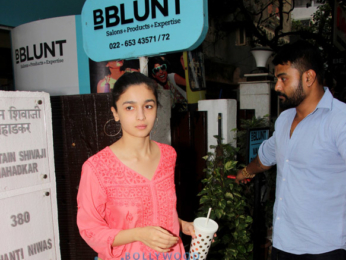 Alia Bhatt spotted at BBLUNT