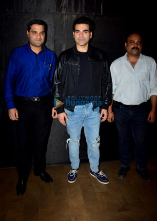 Arbaaz Khan hosts a special screening of 'Nirdosh' for his family and close friends