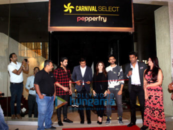 Cast of Sonu Ke Titu Ki Sweety grace the opening of Carnival Select Lounge at Carnival Cinemas IMAX Wadala