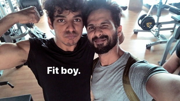 Check out Brothers Shahid Kapoor and Ishaan Khatter are now gym buddies