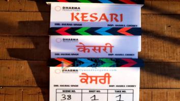 On The Sets Of The Movie Kesari