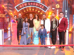 Mallika Sherawat and Sohail Khan on the sets of Entertainment Ki Raat