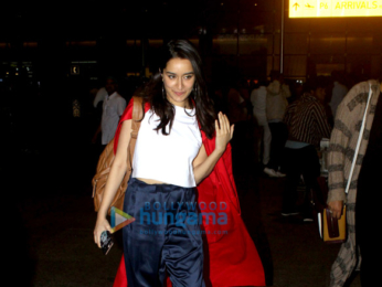 Shraddha Kapoor and Saif Ali Khan snapped at the airport