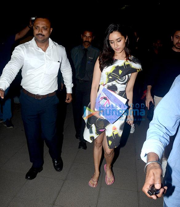 Shraddha Kapoor spotted at Yauatcha, BKC