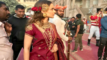 LEAKED! Kangana Ranaut looks regal as young Rani Lakshmibai on Manikarnika- The Queen of Jhansi sets