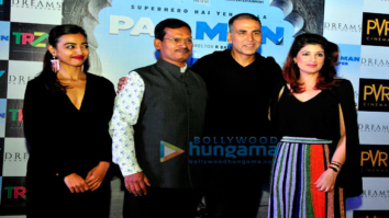 Akshay Kumar, Twinkle Khanna and others grace the press conference of 'Pad Man' in Delhi
