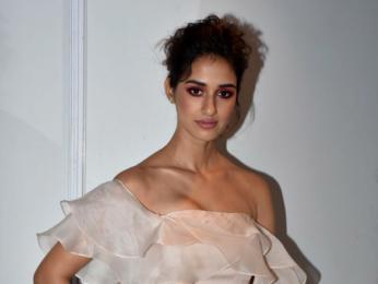 Disha Patani snapped at the Lakme Fashion Week 2018