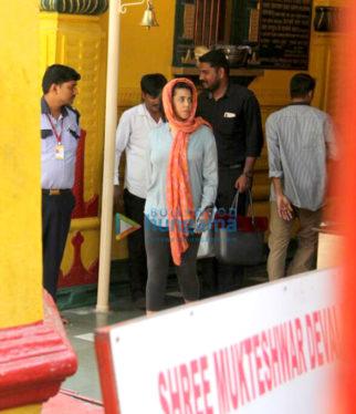 Ekta Kapoor snapped in Juhu-