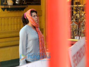 Ekta Kapoor snapped in Juhu-