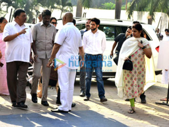 Celebs snapped attending Sridevi's last rites at Celebrations Sports Club