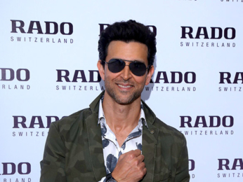 Hrithik Roshan launches latest range of Rado watches in Delhi