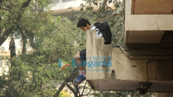 Ishaan Khatter snapped exiting the gym