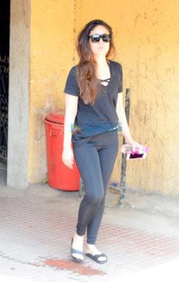 Kareena Kapoor Khan spotted at the gym in Bandra
